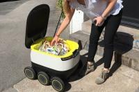 Автономные роботы доставляют в Лондоне