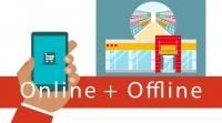 Посетители сайта платят в офлайне больше