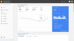 Google Analytics запустил новую главную страницу
