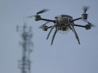 Над Москвой взлетают дроны