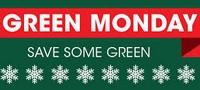 Зеленый понедельник стал второй Черной пятницей