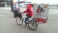 Велорикш запрягут в рекламную кампанию