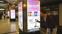 В московском метро открыли виртуальный магазин