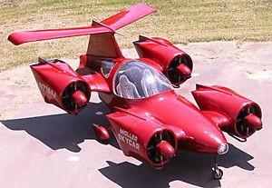 На eВay выставили летающий автомобиль