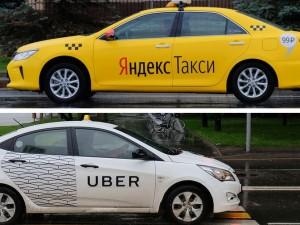 """Какую долю рынка получат при слиянии """"Яндекс.Такси"""" и Uber?"""