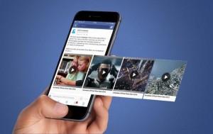 Алгоритмы Facebook любят видео