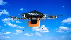 Дроны Amazon сбросят с 8 метров и не повредят товары