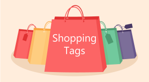 shoping tags