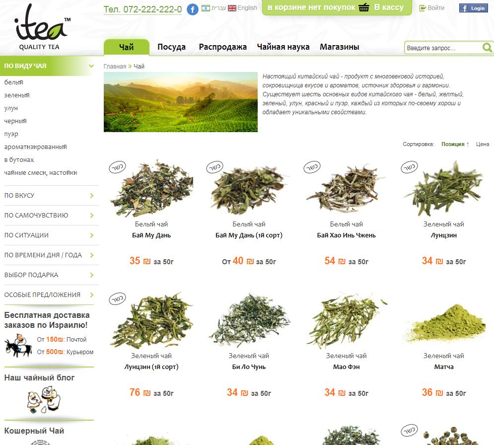 Чайная церемония: контент-аудит интернет-магазина чая
