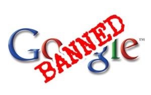 Забанили Google