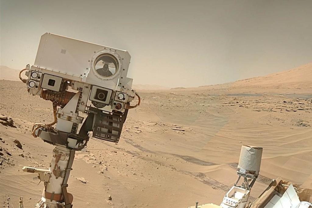 селфи с Марса
