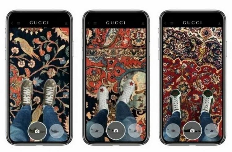 Белорусский стартап разработал виртуальную примерку обуви для Gucci
