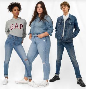 Бренд GAP открыл в России онлайн-магазин