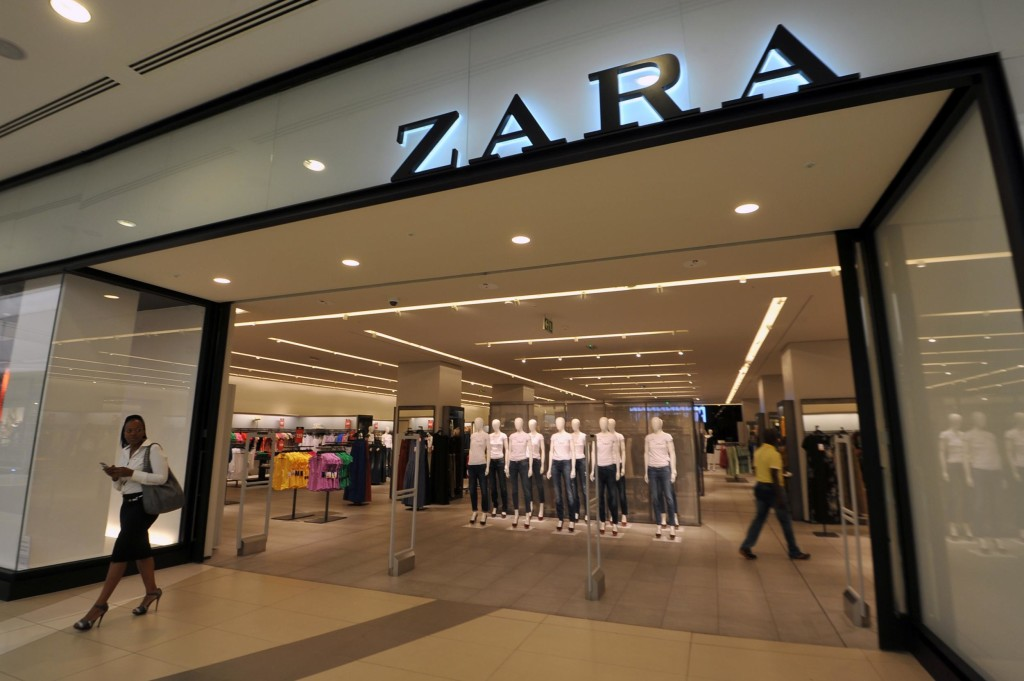 "Zara тестирует в Гамбурге ""постамат-монстр"" на 700 посылок"