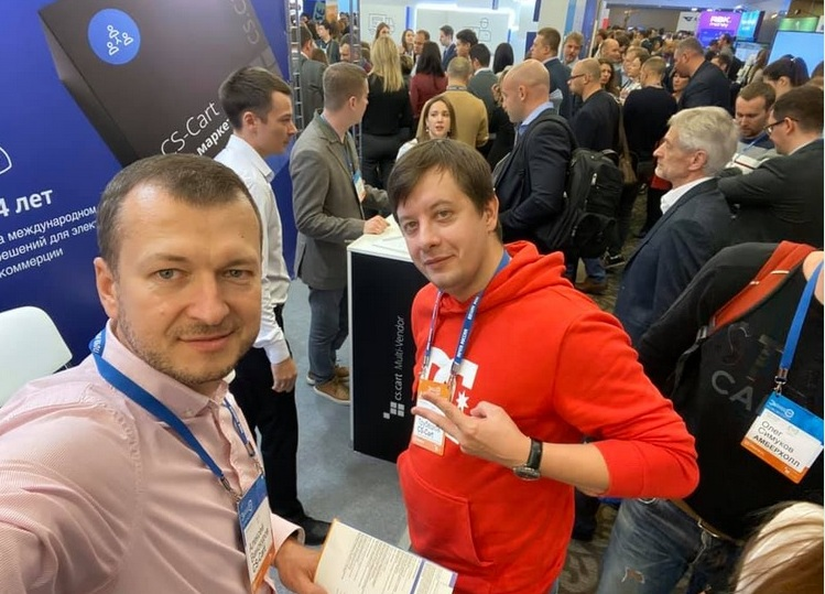 CS-Cart приняла участие в крупнейшей в России и Восточной Европе ecommerce конференции