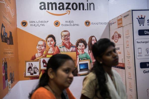 Amazon борется за продуктовый рынок Индии