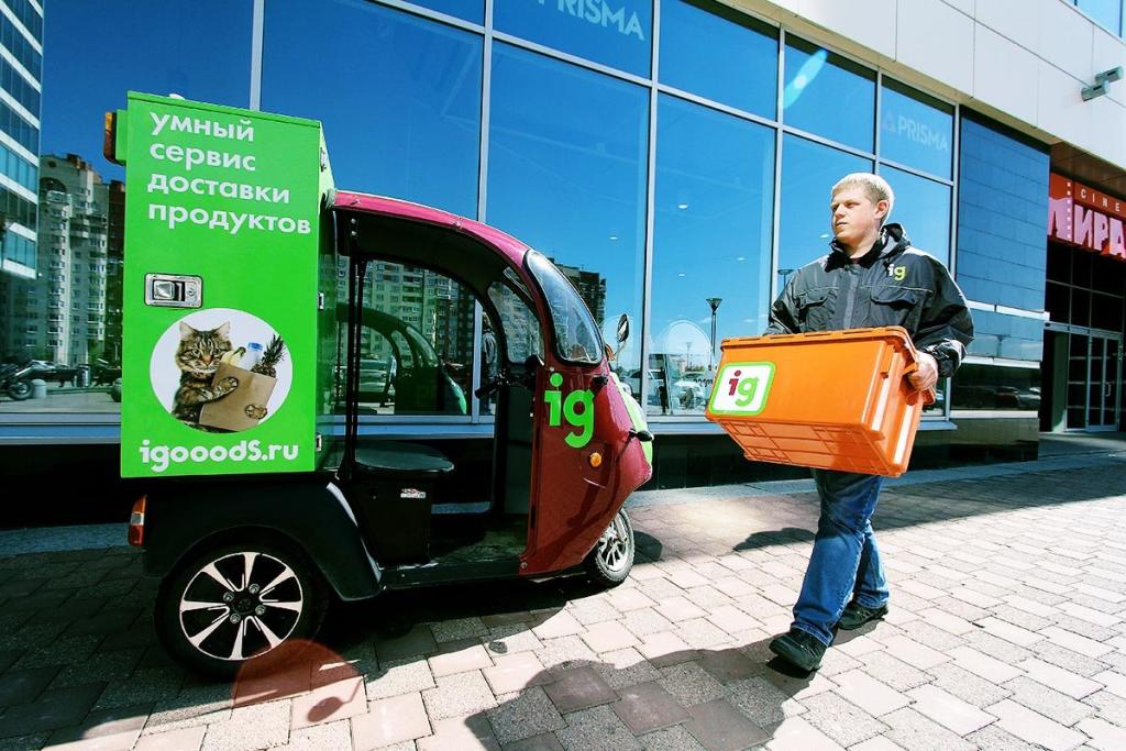 iGooods: онлайн-продажи продуктов выросли в 3-4 раза