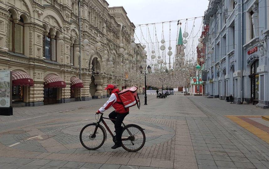 В Москве доставляют более миллиона заказов в день