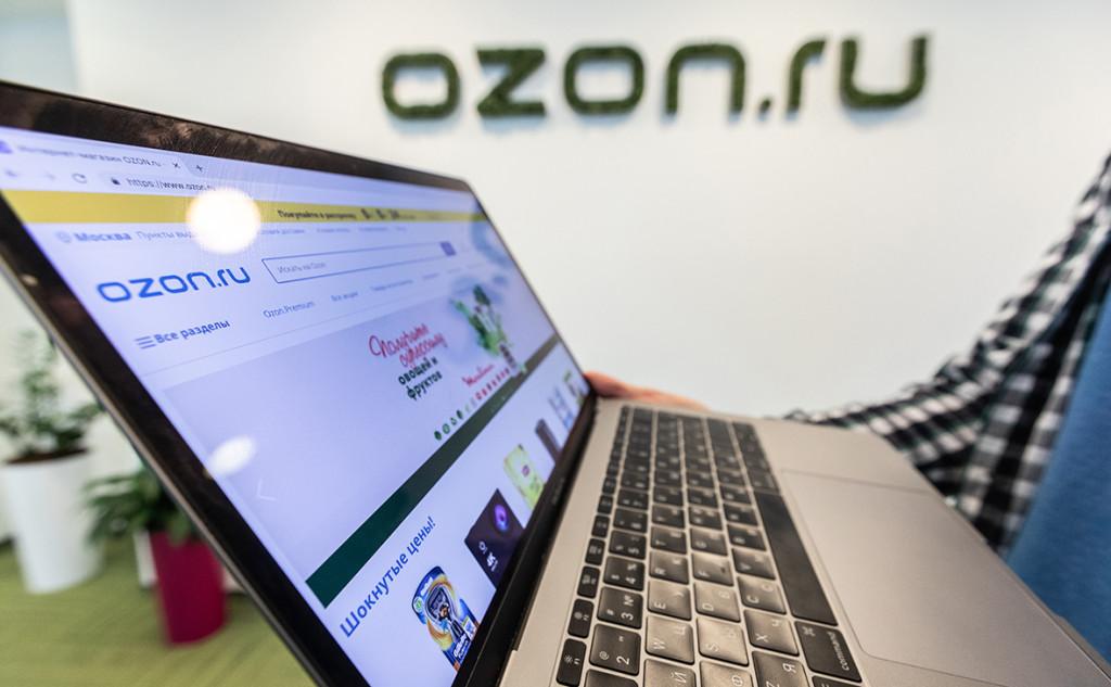 Ozon запустил бесконтактную оплату заказов при получении
