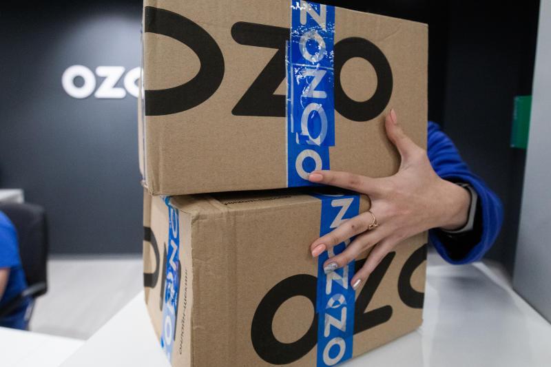 Продажи FMCG-товаров у Ozon выросли в три раза