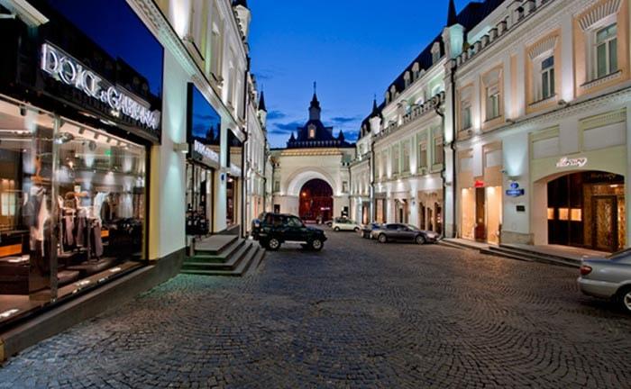 Онлайн-магазины осваивают центр Москвы