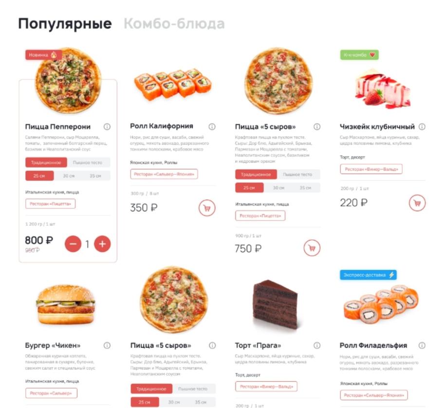 Как организовать доставку еды