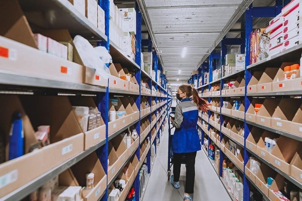 Ozon открывает огромные склады (фоторепортаж)