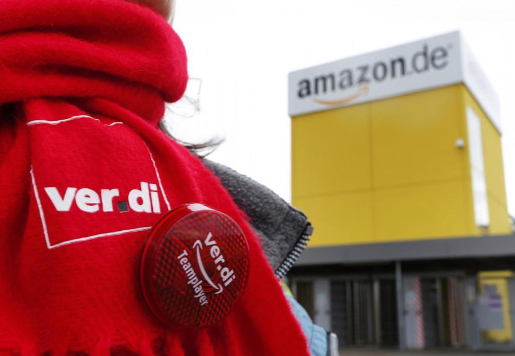 Забастовка работников Amazon парализовала работу каждого второго склада ритейлера