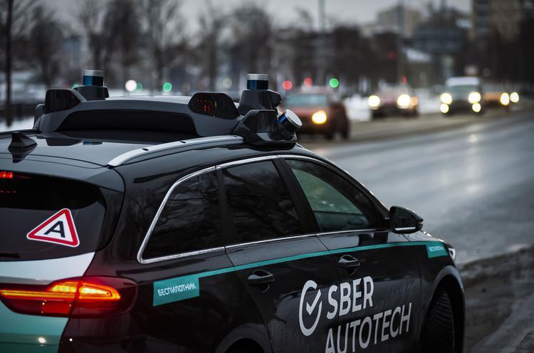 """""""Сбер"""" выпустил на улицы Москвы первые беспилотные автомобили"""