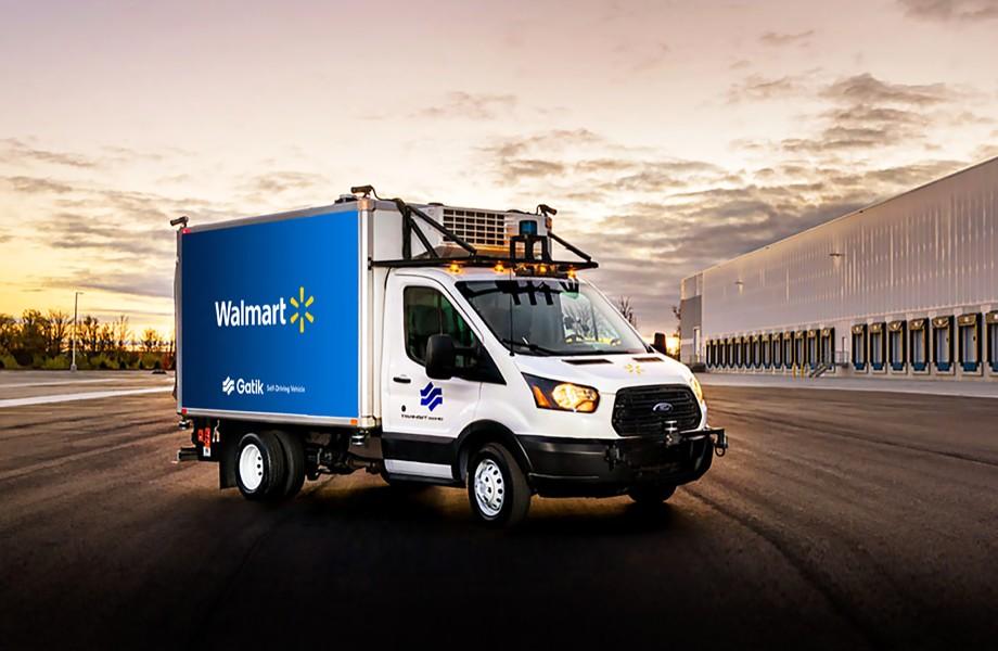 Walmart отпускает фургоны-беспилотники в свободный пробег
