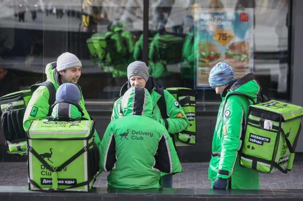 Delivery Club работает уже в 256 городах, доставляет из магазинов - в ста