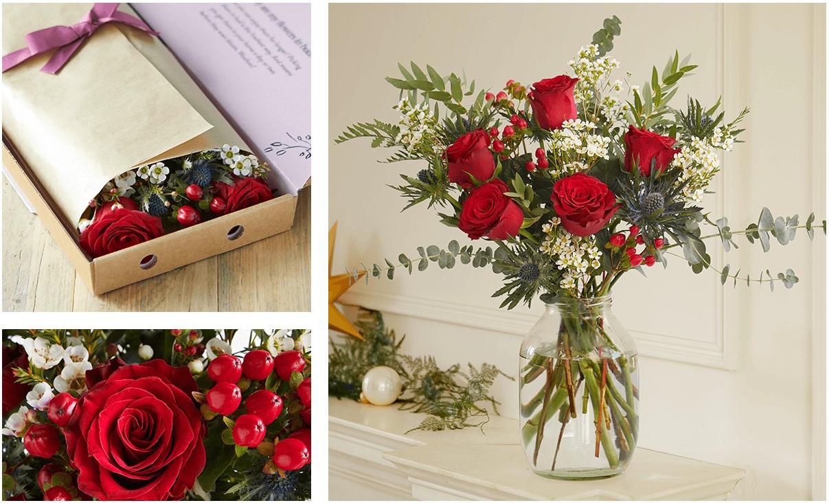 Letterbox Flowers формат продажи цветов