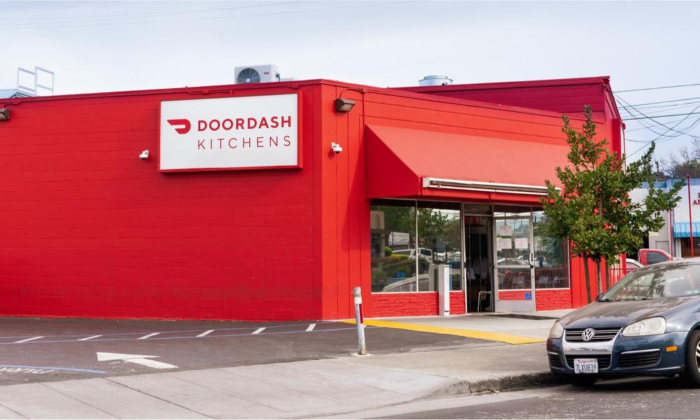 Черная кухня компании DoorDash в Калифорнии