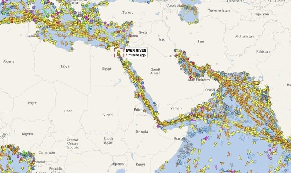 Морской путь между Европой и Азией
