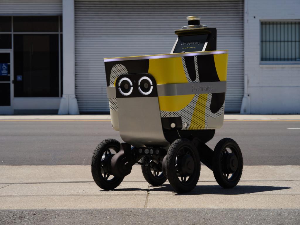 Стартап, производящий роботов-курьеров для Uber, стал отдельной компанией (+ видео с таким роботом)