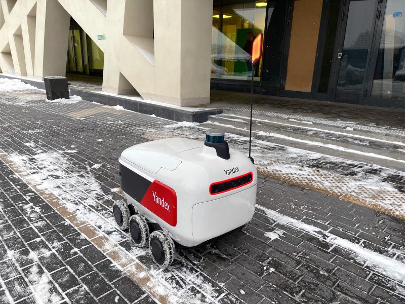 Яндекс запустит доставку робокурьерами в США, Израиле и Южной Корее
