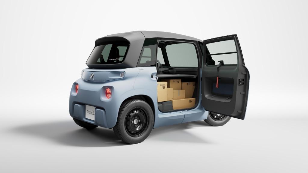 Citroën показал электромобиль для служб доставки. Есть подозрения, что он не предназначен для человека