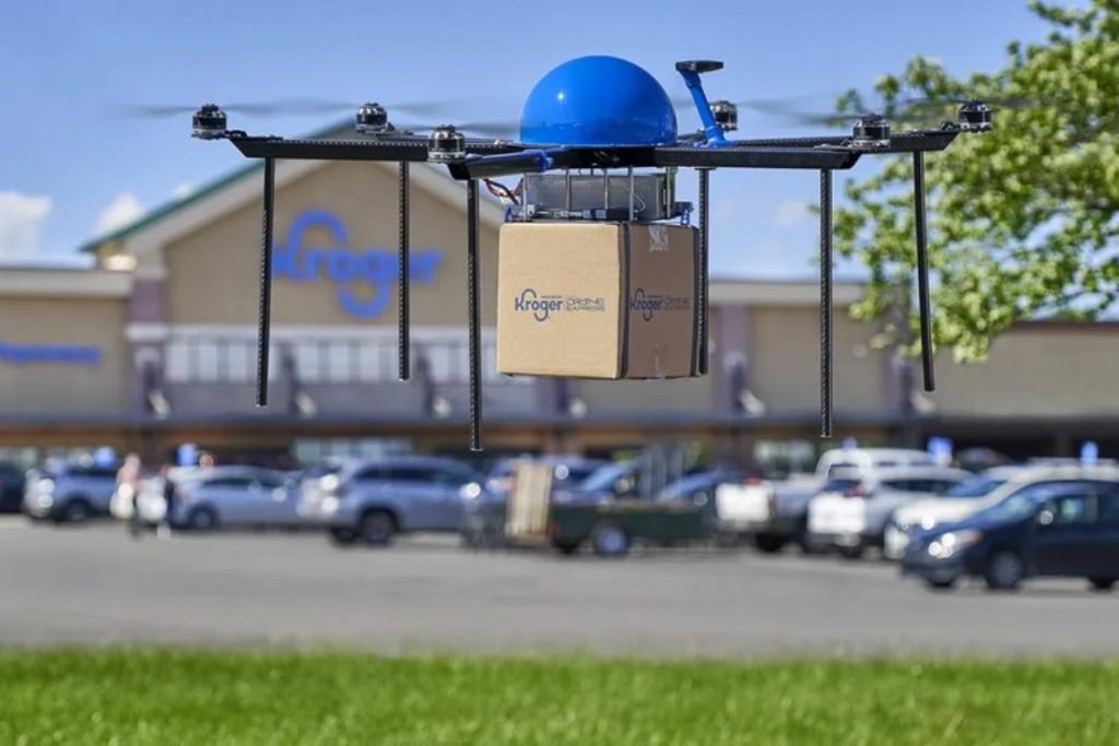 В штате Огайо дроны с товарами гоняются за заказчиком. Этот опыт хотят распространить на весь мир
