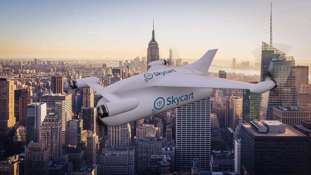 """""""Четырехзарядный"""" Nimbus: новый дрон может доставить грузы в 4 разные точки за один рейс"""