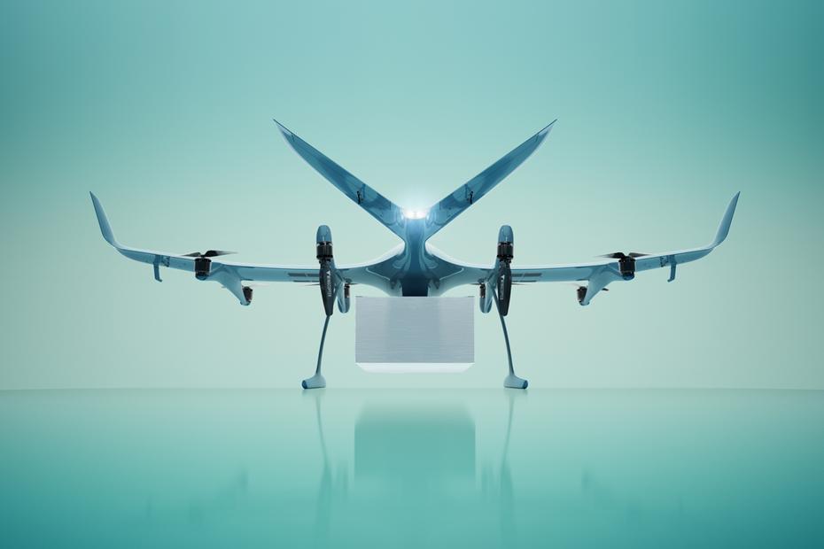 Этот беспилотник умеет доставлять 3 посылки за один полет и бережно сбрасывать их на землю (видео)