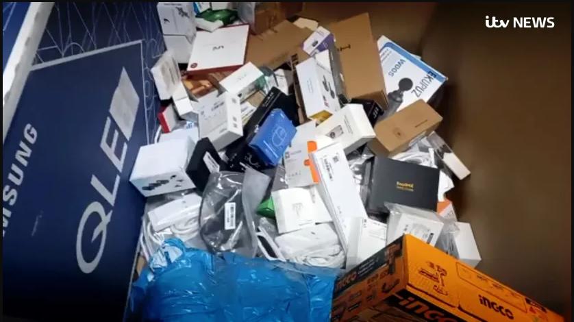 В Британии скандал: там обнаружили, сколько товаров уничтожает Amazon каждую неделю (ВИДЕО)