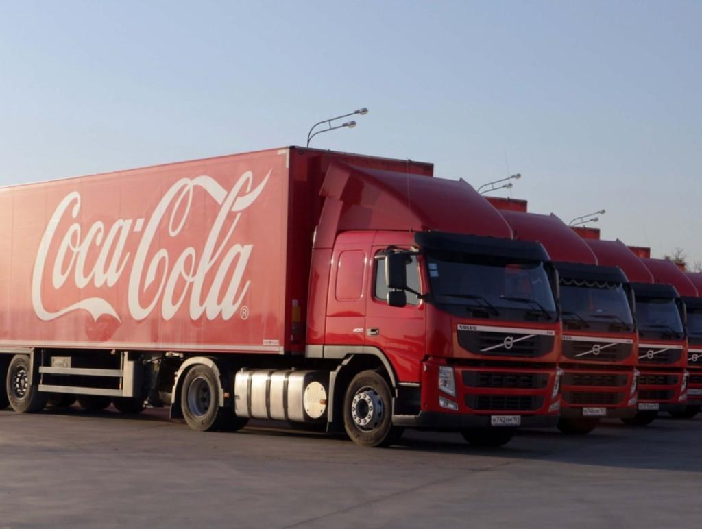 """""""Яндекс.Маршрутизация"""" взяла под контроль автопарк Coca-Cola в России"""