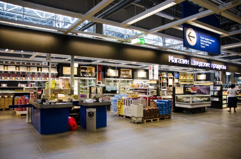 IKEA тоже теперь доставляет продукты. Но не любые и пока не из каждого своего магазина