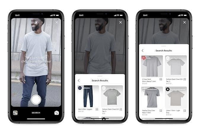 инстаграм поиск одежды