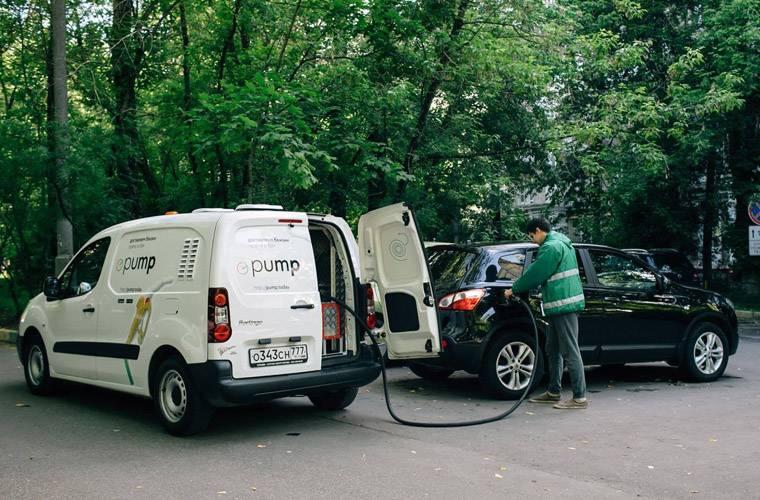 Pump заправка автомобиля по подписке