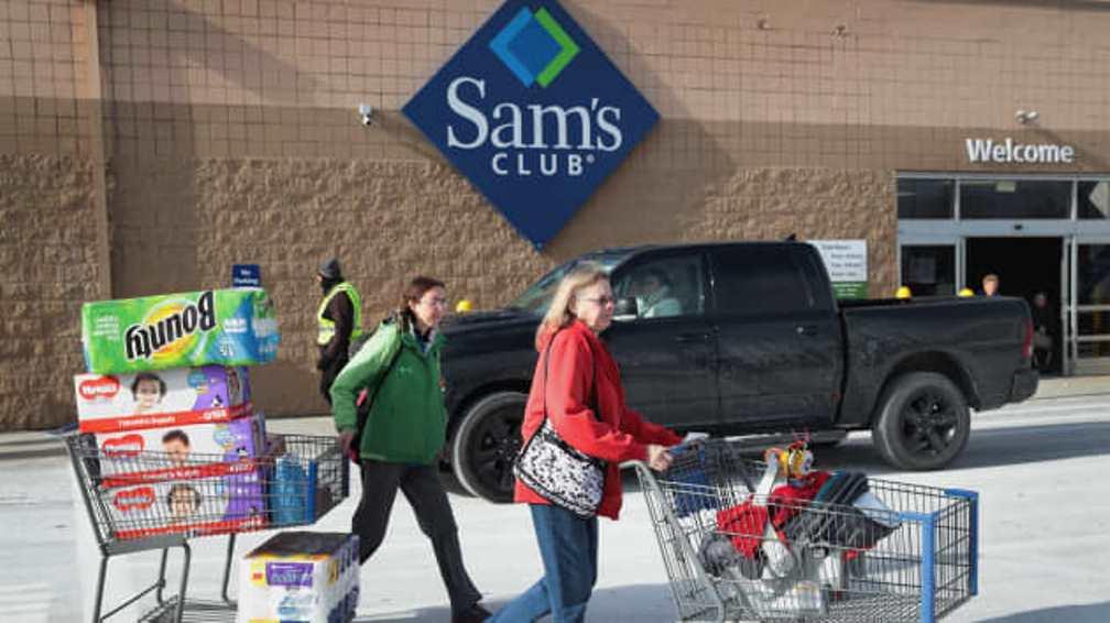 Мелкооптовые магазины Walmart пустили клиентов мимо кассы. А зачем она, если есть приложение в смартфоне?