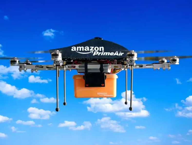 дрон от Амазон