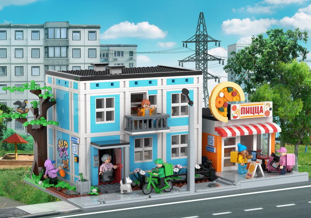 Игрушки для взрослых? На сайте Lego появились конструкторы с курьерами Delivery Club и грузчиками Яндекс.Маркета (ФОТО)